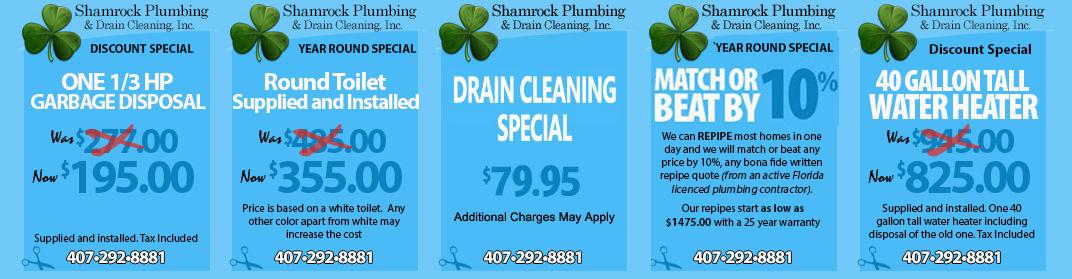Plumbing Services Orlando, Fl
